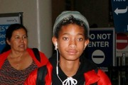 Willow Smith Arrives at LAX