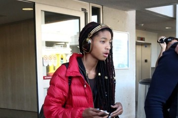 Willow Smith Willow Smith at LAX
