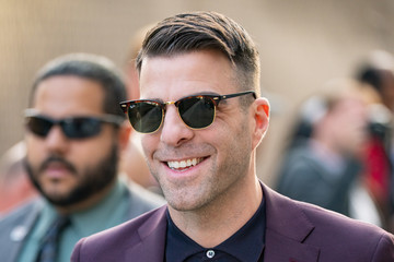 Zachary Quinto Zachary Quinto Appears On 'Kimmel'
