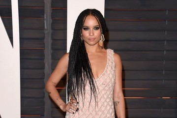 Zoe Kravitz Stars at the Vanity Fair Oscar Party