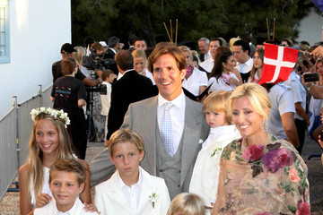Marie-Chantal Miller A very royal wedding for Prince Nikolaos