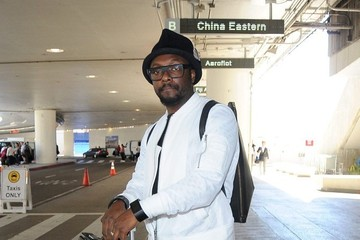 will.i.am will.i.am Arrives at LAX