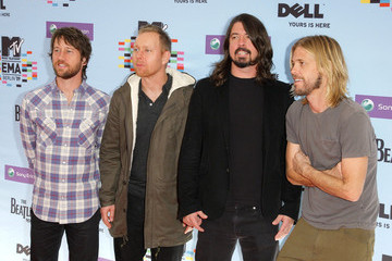 Foo Fighters 2009 MTV Europe Music Awards - Arrivals