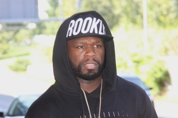 50 Cent Curtis Jackson Touches Down in DC