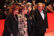 Celebrities attend the premiere of 'Mammuth' during the 60th Berlin International Film Festival.
