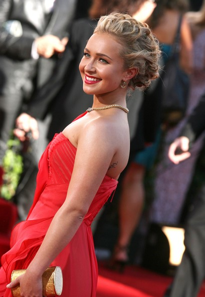 Hayden Panettiere Pinned Up Ringlets