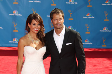 Brooke Burke David Charvet 62nd Annual Primetime Emmy Awards - Arrivals