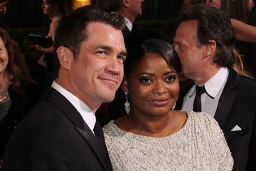Octavia Spencer Tate Taylor The 84th Annual Academy Awards 2012: Arrivals Group B