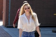 AJ Michalka Goes Shopping In Beverly Hills