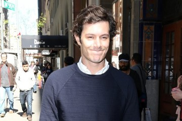 Adam Brody Celebrities at Crackel Upfront In NYC