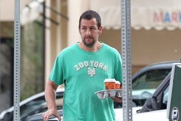 Adam Sandler Adam Sandler Makes a Morning Coffee Run