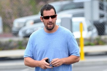 Adam Sandler Adam Sandler Out For Lunch In Brentwood