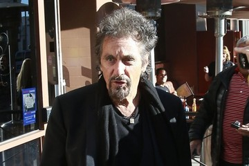 Al Pacino Al Pacino Out For Lunch In Beverly Hills