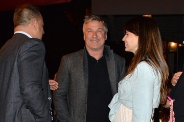 Alec Baldwin Hilaria Baldwin Alec Baldwin and Hilaria Thomas Dine Out at Craig's