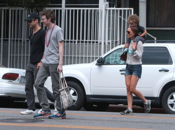 Natalie Portman & Family Out And About In Los Feliz