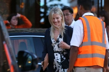 Ali Larter Celebrities Dine Out at SoHo House