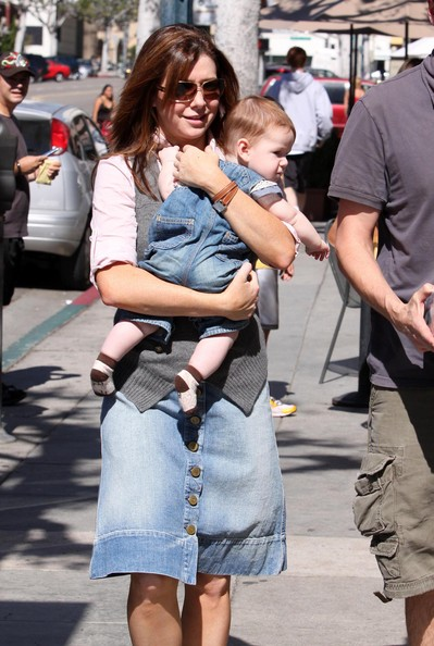 Alyson Hannigan And Family Out Shopping In Beverly Hills 2 []