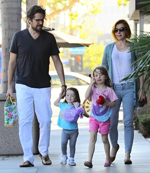 Keeva Denisof in Alyson Hannigan & Family Have Dinner ...