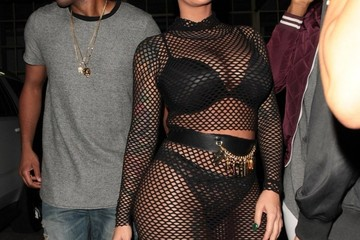 Amber Rose Amber Rose Enjoys a Night Out in West Hollywood