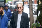 Amber Valletta Steps Out in NYC