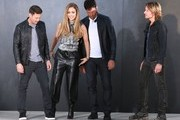 'American Idol' judges Jennifer Lopez, Harry Connick Jr. and Keith Urban along with host Ryan Seacrest doing a photo shoot at Milk Studios in Los Angeles, California on October 2, 2014. The hit singing competition reality TV show is currently filming it's 14th Season!<br /> <br /> Pictured: Ryan Seacrest, Jennifer Lopez, Harry Connick Jr., Keith Urban