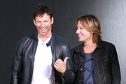 'American Idol' judges Jennifer Lopez, Harry Connick Jr. and Keith Urban along with host Ryan Seacrest doing a photo shoot at Milk Studios in Los Angeles, California on October 2, 2014. The hit singing competition reality TV show is currently filming it's 14th Season!<br /> <br /> Pictured: Harry Connick Jr., Keith Urban