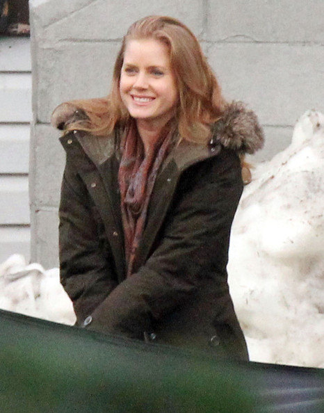 Amy Adams On The Set Of 'Man Of Steel' - Pictures - Zimbio