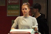 Amy Adams Shopping At Target In West Hollywood