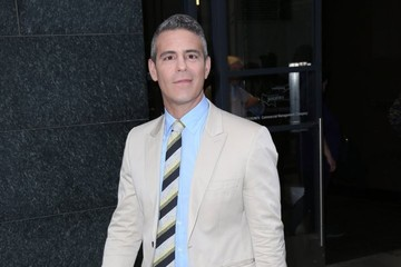 Andy Cohen Celebs Arrive at 'Watch What Happens Live'