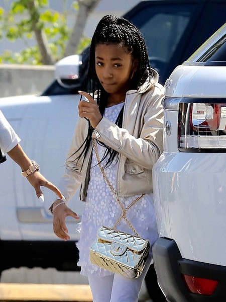 Mel B Heads Out With Her Daughters