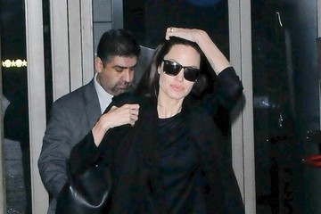 Angelina Jolie Angelina Jolie Touches Down at LAX