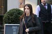 Anna Kendrick Out And About In NYC
