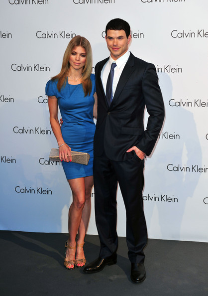 Kellan Lutz and AnnaLynne McCord - Celebrities Arriving At Calvin Klein ...
