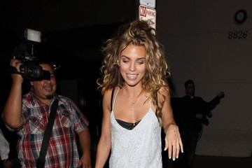 AnnaLynne McCord Celebrities Dine Out at Craig's Restaurant