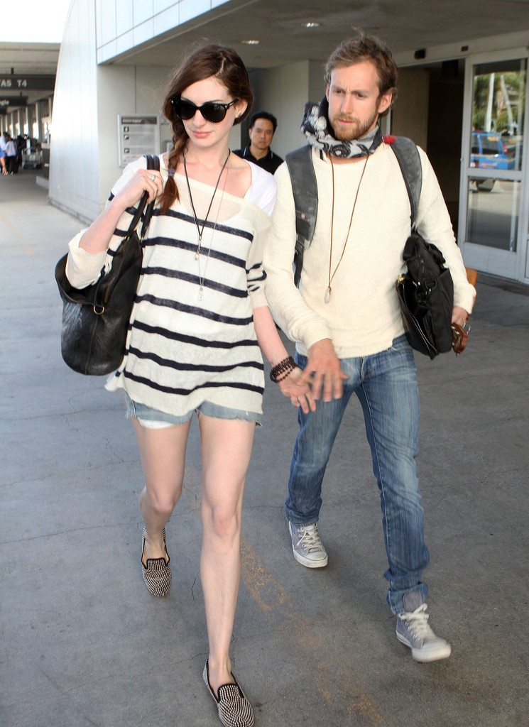 Anne Hathaway and Adam...