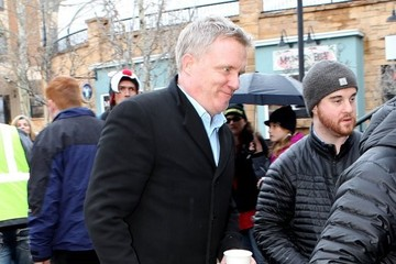 Anthony Michael Hall Celebs at the Sundance Film Festival