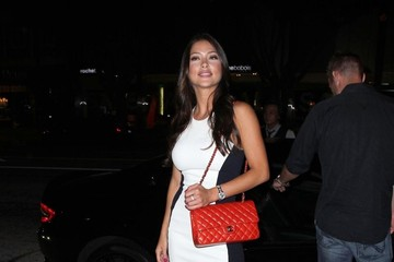 Arianny Celeste Arianny Celeste Heads to Dinner in Hollywood