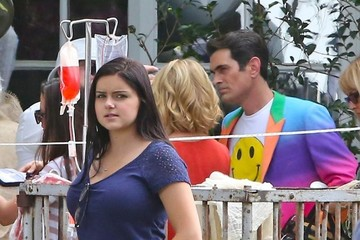 Ariel Winter Ty Burrell Scenes from the 'Modern Family' Set