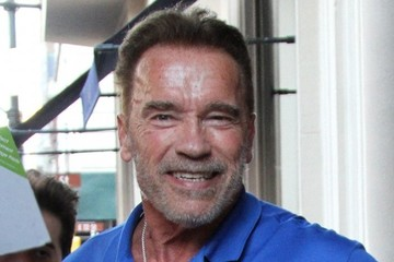 Arnold Schwarzenegger Arnold Schwarzenegger Heads Out in NYC