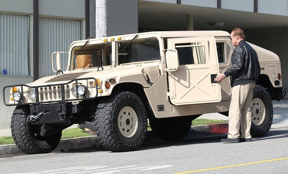 Arnold S Terminator Am Hummer Celebrity Cars Blog