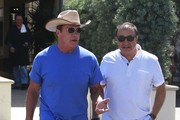 Arnold Schwarzenegger Out For Lunch In Beverly Hills