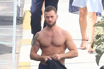 Artem Chigvintsev Celebs Are Seen at the 'Dancing With the Stars' Studio
