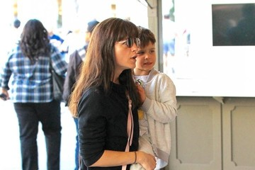 Arthur Bleick Selma Blair Catches a Flick With Her Son Arthur