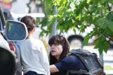Arthur Bleick Selma Blair Hangs Out With Her Son Arthur