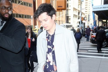 Asa Butterfield Asa Butterfield Heads Out in NYC