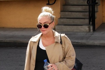 Ashlee Simpson Pregnant Ashlee Simpson & Evan Ross Stop For Lunch