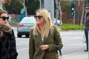 Ashley Benson Ashley Benson Lunches In Beverly Hills