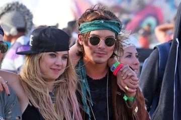 Ashley Benson Tyler Blackburn Coachella Music Festival Day 3