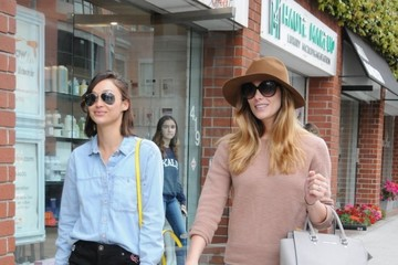 Ashley Greene Ashley Greene and Cara Santana Go to a Nail Salon in Beverly Hills