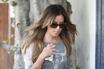 Ashley Tisdale Ashley Tisdale Shops in Beverly Hills